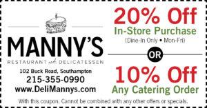 Manny's Delicatessen